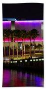 Tampa Museum Of Art In Hdr Beach Towel