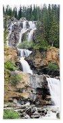 Tangle Falls Tumble Beach Towel