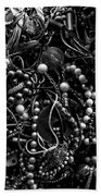 Tangled Baubles - Bw Beach Towel