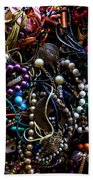 Tangled Baubles Beach Towel