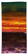 Taos Sunset Lx - Homage Turner Beach Towel