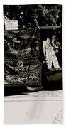 Tapestries Of  Elvis Presley  Hawai Concert Jesus Christ Sheep Horses Flags Armory Park Tucson Az Beach Towel