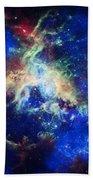 Tarantula Nebula 4 Beach Towel by Jennifer Rondinelli Reilly - Fine Art Photography