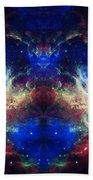 Tarantula Nebula Reflection Beach Towel