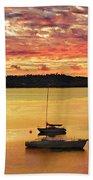 Tasmanian Suset Beach Towel