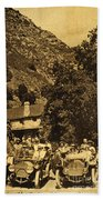 Tassajara Hot Springs Monterey County Calif. 1915 Beach Towel