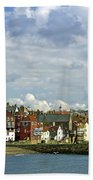 Tate Hill Pier And The Shambles - Whitby Beach Towel