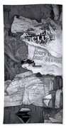 Tattered And Torn Beach Towel
