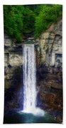 Taughannock Falls Ulysses Ny Beach Towel