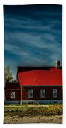 Tawas Point Lighthouse Beach Towel