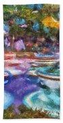 Tea Cup Ride Fantasyland Disneyland Pa 02 Beach Towel