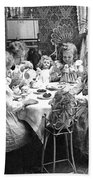 Tea Party, C1902 Beach Towel