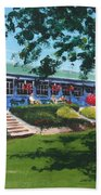 Tea Rooms At The Peoples Park Beach Towel