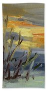 Teanaway Valley Winter Beach Towel
