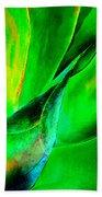Technicolor Succulent Beach Towel