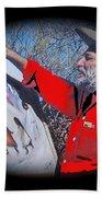 Ted Degrazia Los Ninos Oil Petley Post Card C.1967-2013 Beach Towel