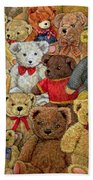 Ted Spread Beach Towel by Ditz