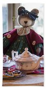 Teddy Bear Tea Party Beach Towel