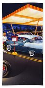 Teds Drive-in Beach Towel
