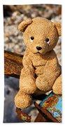 Ted's On The Rust Pile Beach Towel