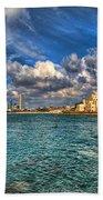 Tel Aviv Jaffa Shoreline Beach Sheet