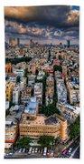 Tel Aviv Lookout Beach Sheet