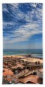 Tel Aviv Summer Time Beach Towel by Ron Shoshani