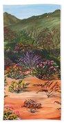 Temecula Heritage Rose Garden Beach Towel