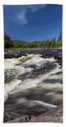 Temperance River 4 Beach Towel