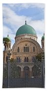Tempio Maggiore  The Great Synagogue Of Florence Beach Towel