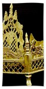 Temple Art - Brass Handicraft Beach Towel