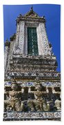 Temple Of Dawn Tower Beach Towel