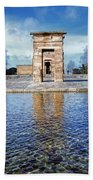 Temple Of Debod Beach Towel