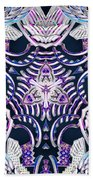Temple Of Simha Beach Towel by Derek Gedney
