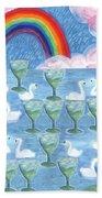 Ten Of Cups Beach Sheet