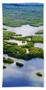 Ten Thousand Islands 2  Beach Towel