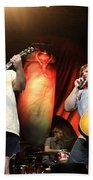 Tenacious D - Kyle Gas And Jack Black Beach Towel