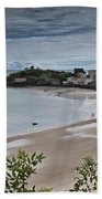 Tenby Panorama 3 Beach Towel