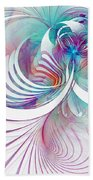 Tendrils 02 Beach Towel by Amanda Moore