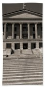 Tennessee Capitol Building Beach Towel by Dan Sproul
