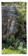 Tennessee Limestone Layer Deposits Beach Towel