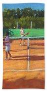 Tennis Practice Beach Towel