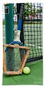 Tennis - Tennis Anyone Beach Towel