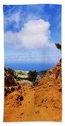 Teno Mountains Beach Towel