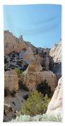 Tent Rocks 8 Beach Towel