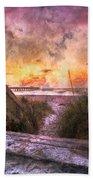 Tequilla Sunrise Beach Towel