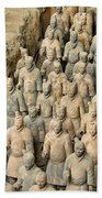 Terra Cotta Warriors Beach Towel