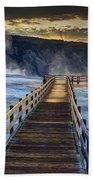 Terrace Boardwalk Beach Towel