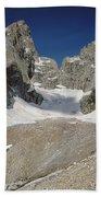 1m9385-teton Glacier Beach Towel