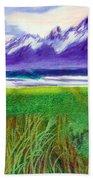 Teton View Beach Towel